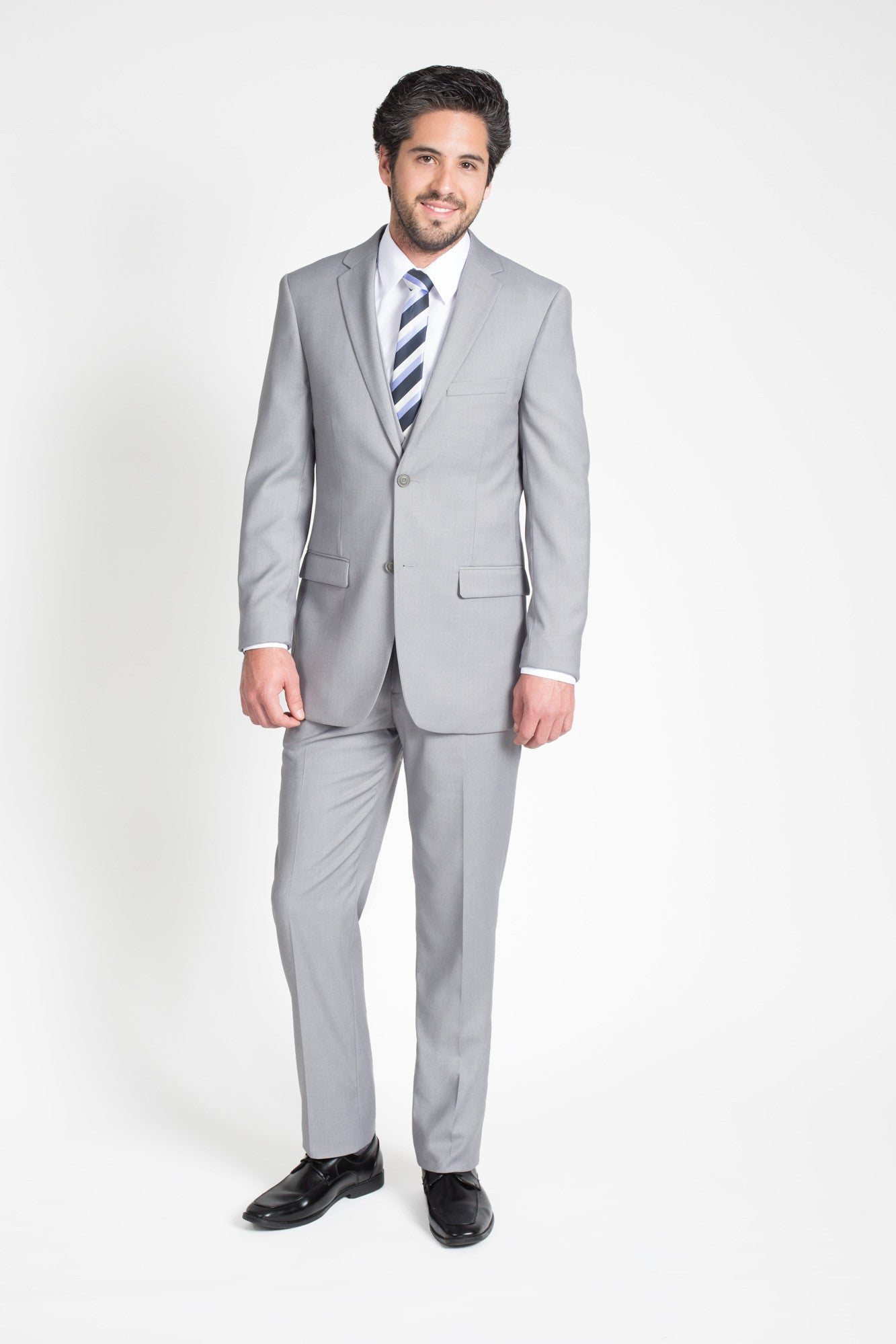 Light Grey Slim Fit Suit