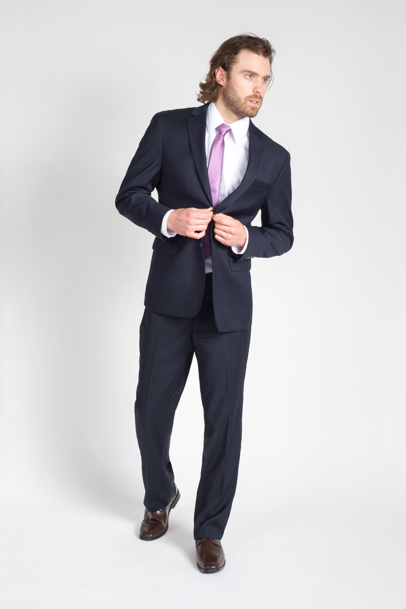 Navy Modern Fit Suit