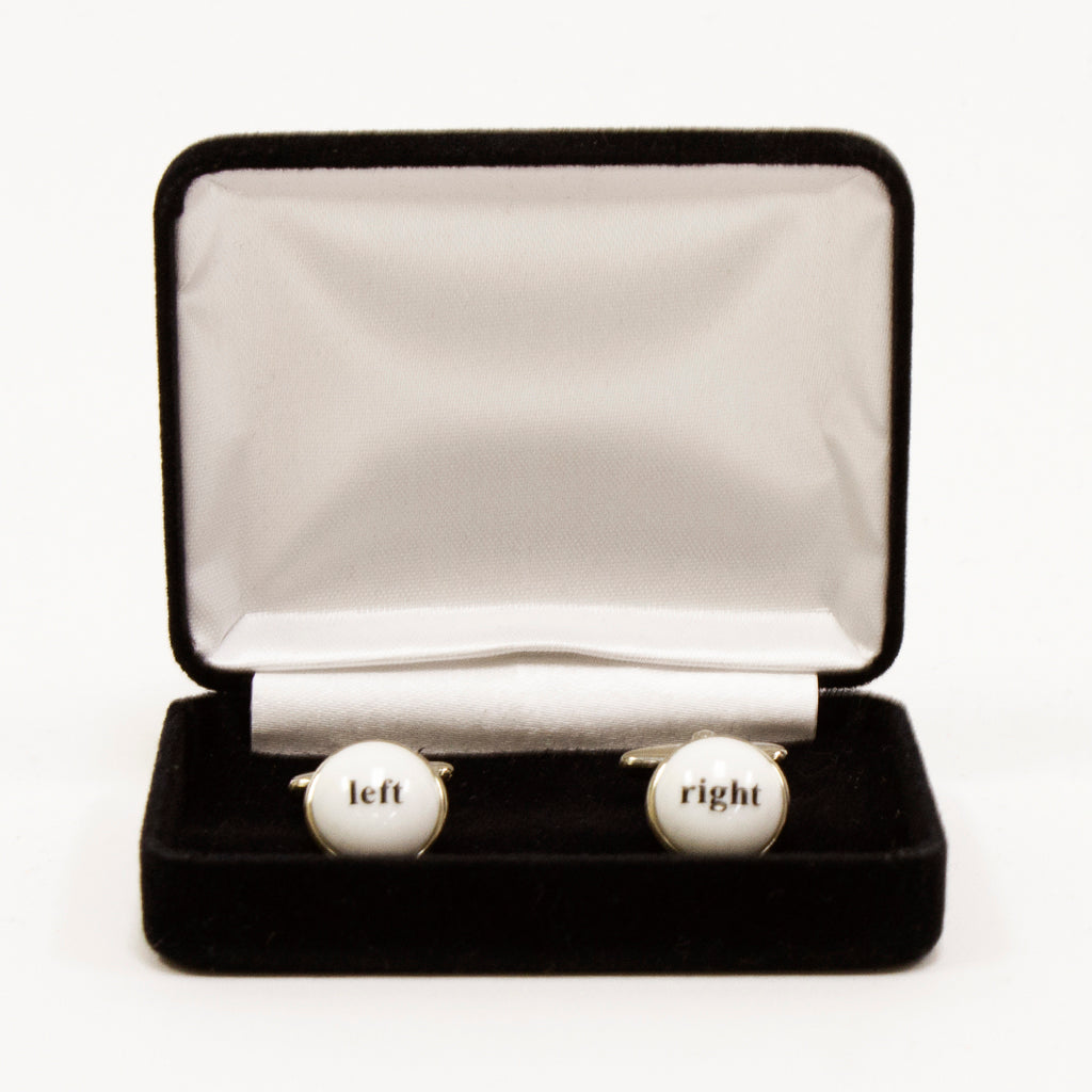 Left/Right Cufflinks