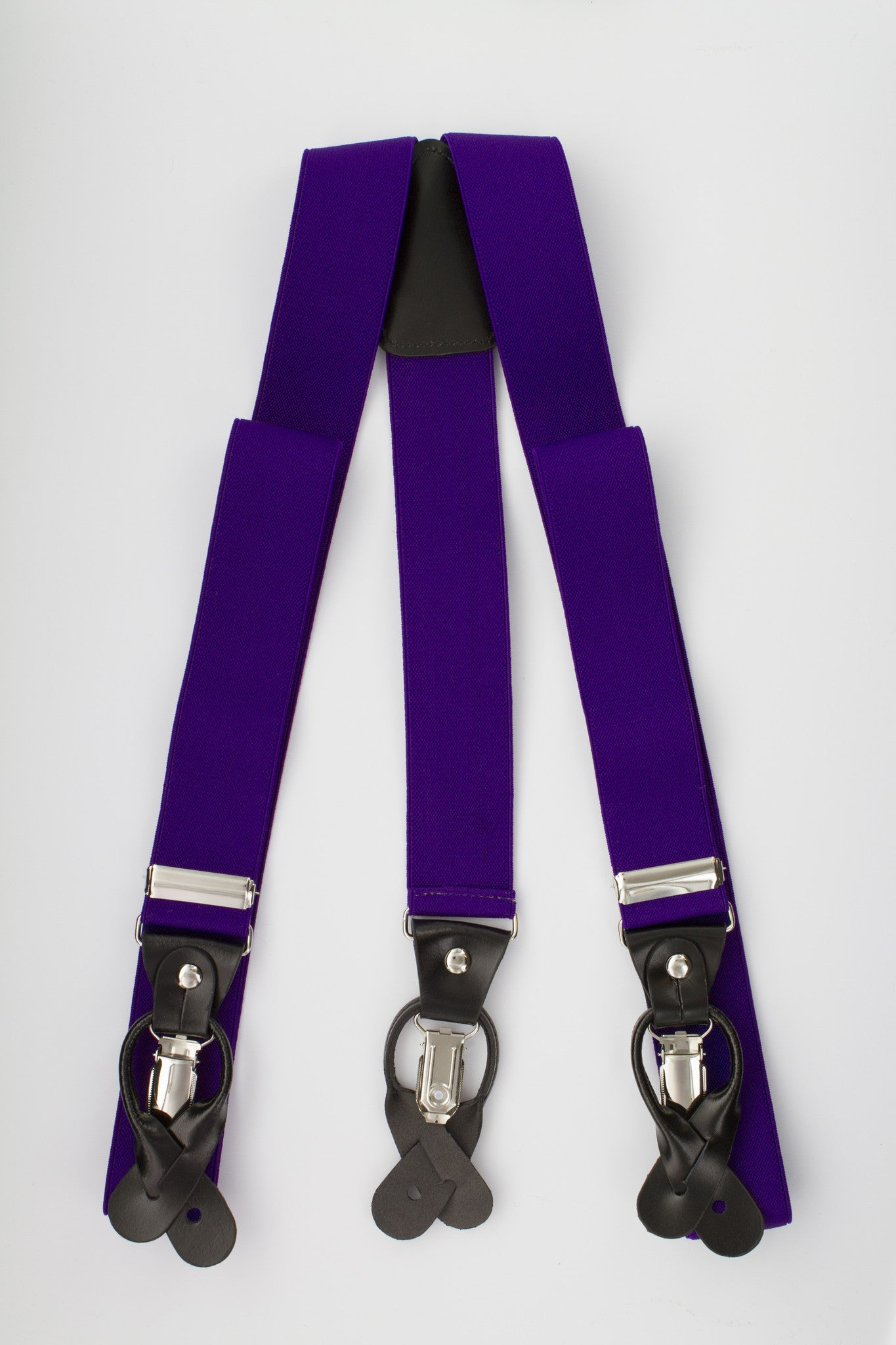 Majestic Button and Clip Suspenders
