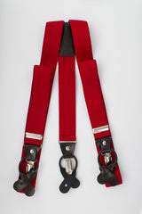 Red Button and Clip Suspenders