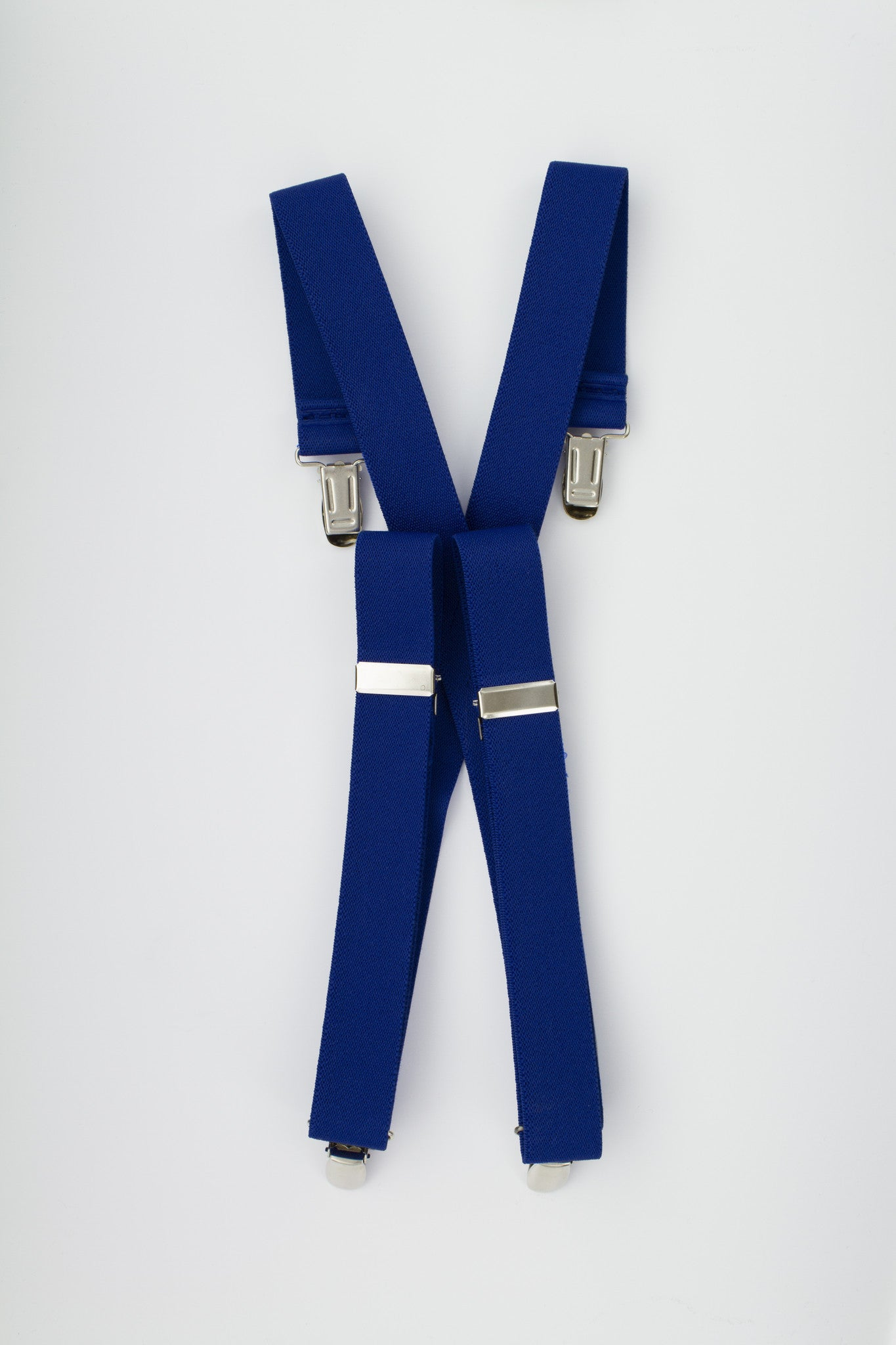Royal Blue Suspenders