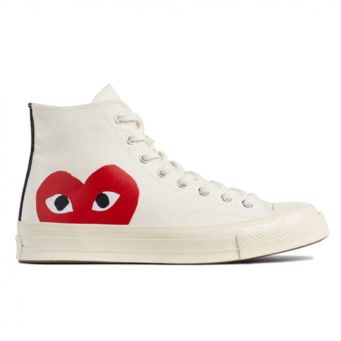 CDG X CONVERSE HIGH (WHITE)