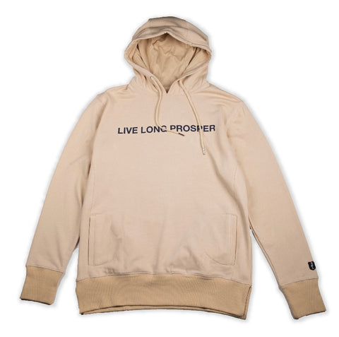 LIVE LONG 2 HOODY (NUDE/NAVY)