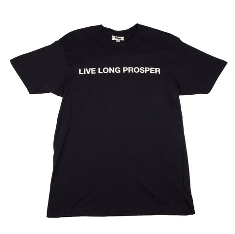 LIVE LONG 2 S/S TEE (NAVY/WHITE)
