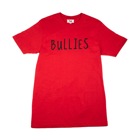 BULLIES S/S TEE (RED/WHITE)
