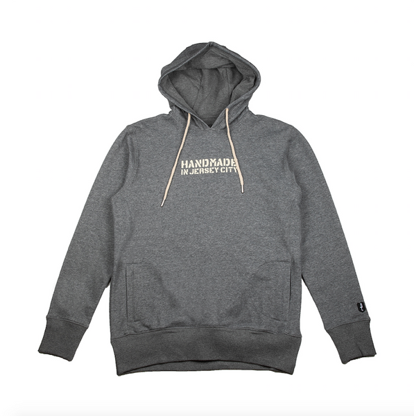 HANDMADE 2 HOODY (HEATHER CHARCOAL)