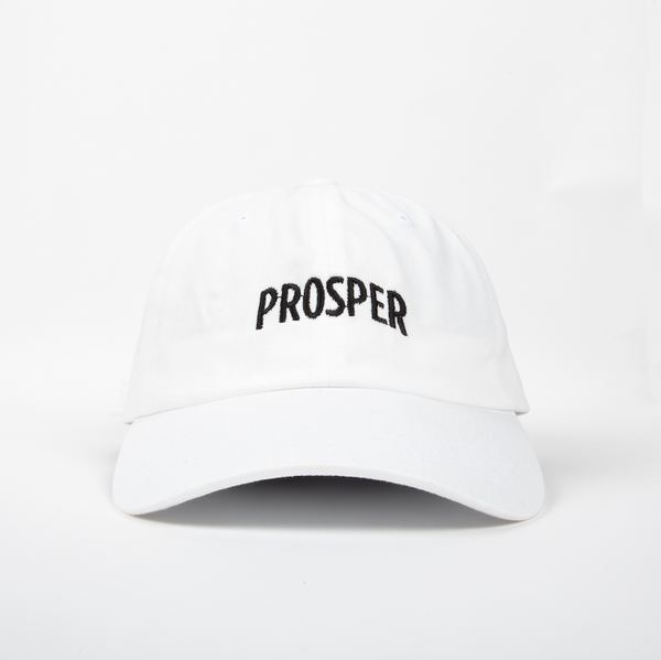 NECESSARY DAD HAT (WHITE)