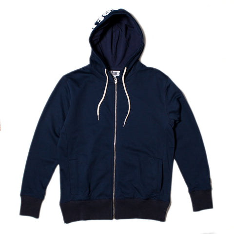 WHITNER ZIP HOODY (Navy)