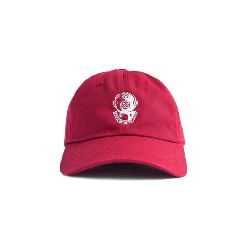 Snead Dad Hat (Cranberry)