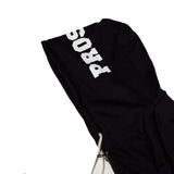 LOVE HATE HOODY (Black)