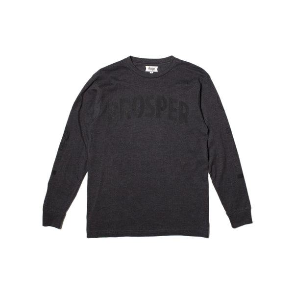 NECESSITY L/S TEE (Heather Charcoal)