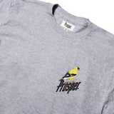 BIRD TEE (Heather Grey)