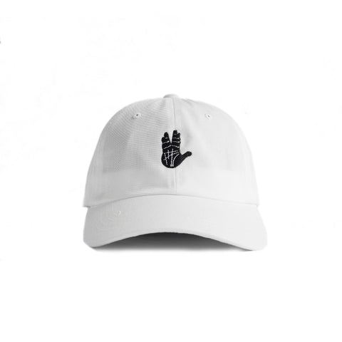 Prosper Hand Dad Hat (White)