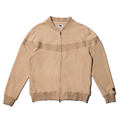Bike Zip Jacket - Tan