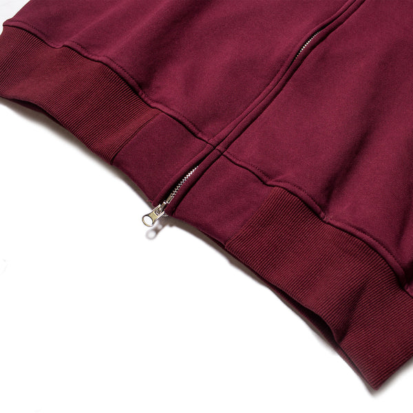 Bike Zip Jacket - Burgundy