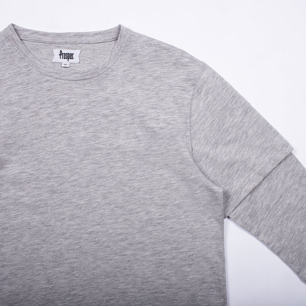Dizon Tee (Heather Grey)