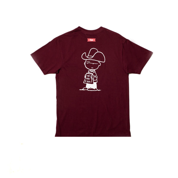 Good Energy Tee (Burgundy)