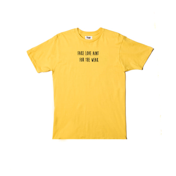 FAKE LOVE TEE (YELLOW)