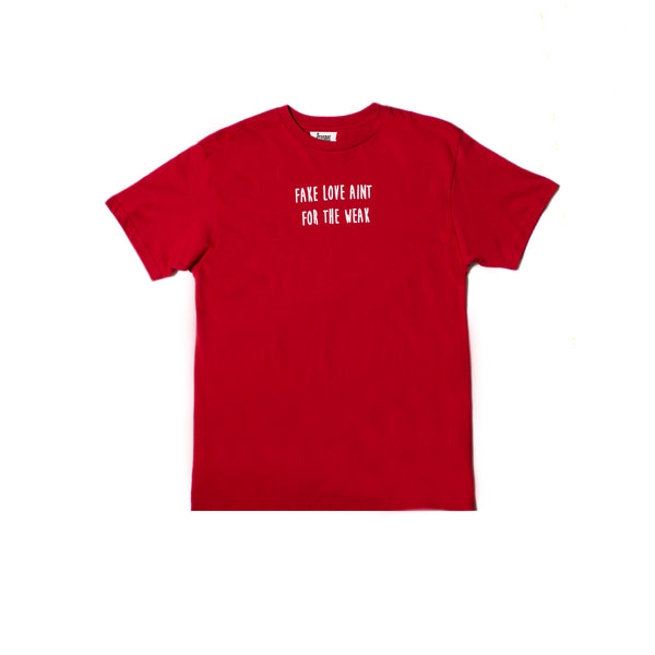 FAKE LOVE TEE (RED)