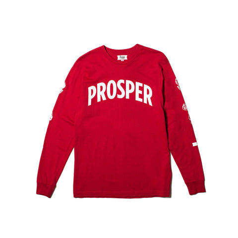 NECESSITY L/S TEE (Red)