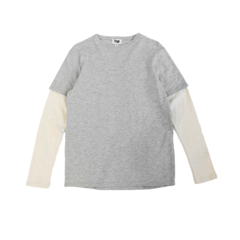 Dickinson L/S Knit (Heather Grey)