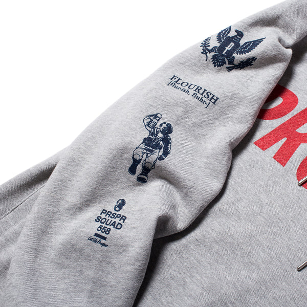 Hero's Hoody (Heather Grey)
