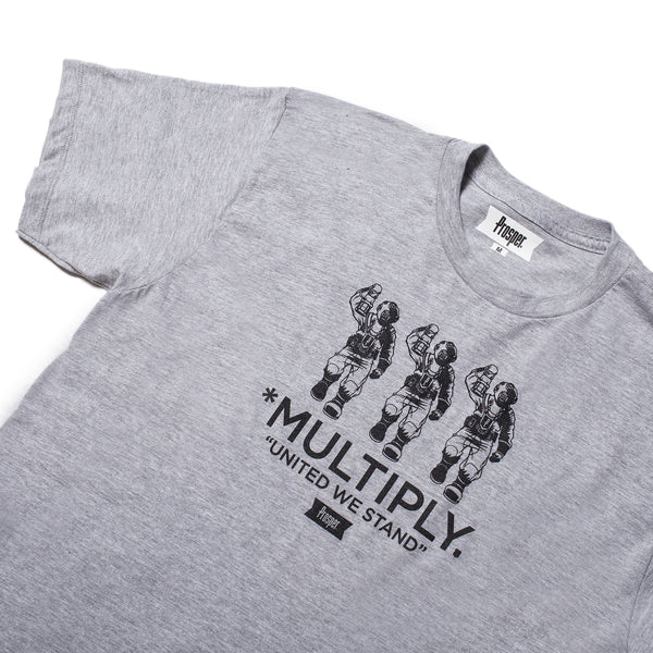 Multiply Tee (Heather Grey)