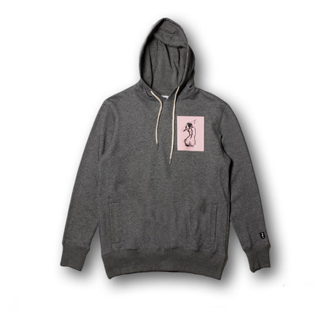 SILHOUETTE P/O HOODY (Heather Charcoal)