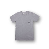 CLASSY POCKET TEE (HEATHER GREY)