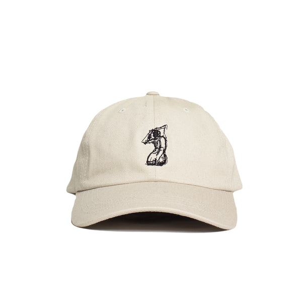 SILHOUETTE DAD HAT (Stone)