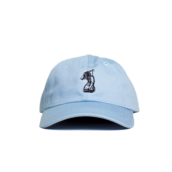 SILHOUETTE DAD HAT (Light Blue)
