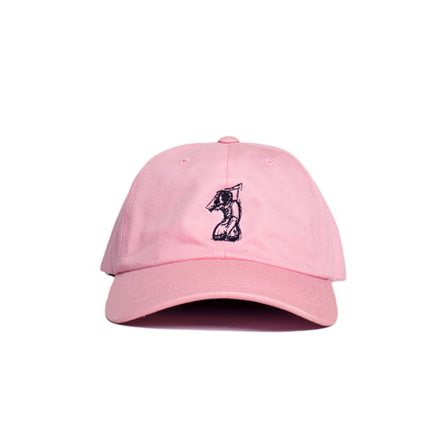 SILHOUETTE DAD HAT (Pink)
