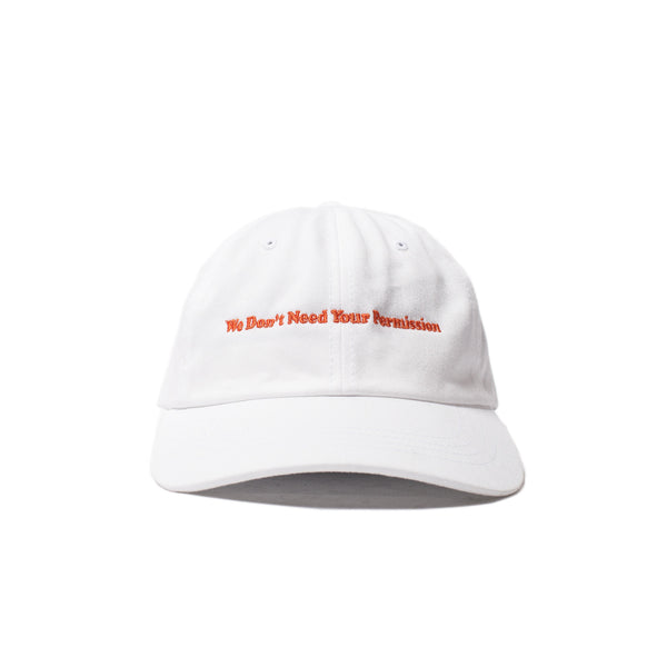 Permission Dad Hat (White)