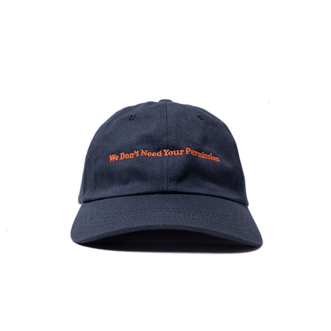 Permission Dad Hat (Navy)