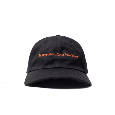 Permission Dad Hat (Black)