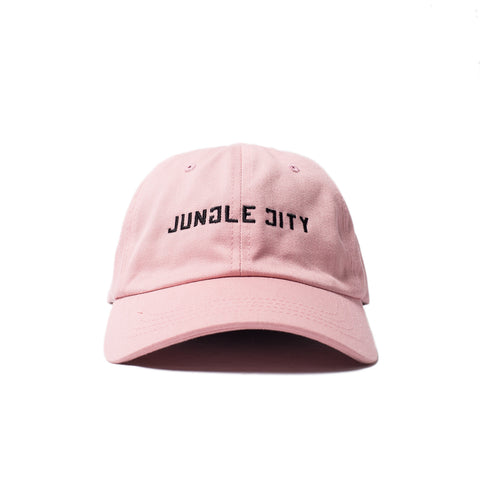 Jungle City Dad Hat (Pink)