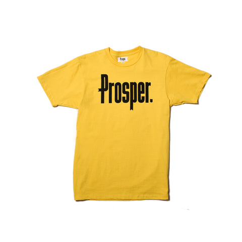 STAFF S/S TEE (YELLOW)