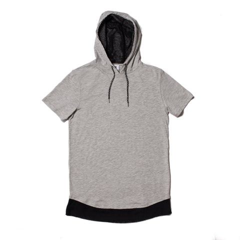 ROGEL HOODY KNIT (Heather Grey)