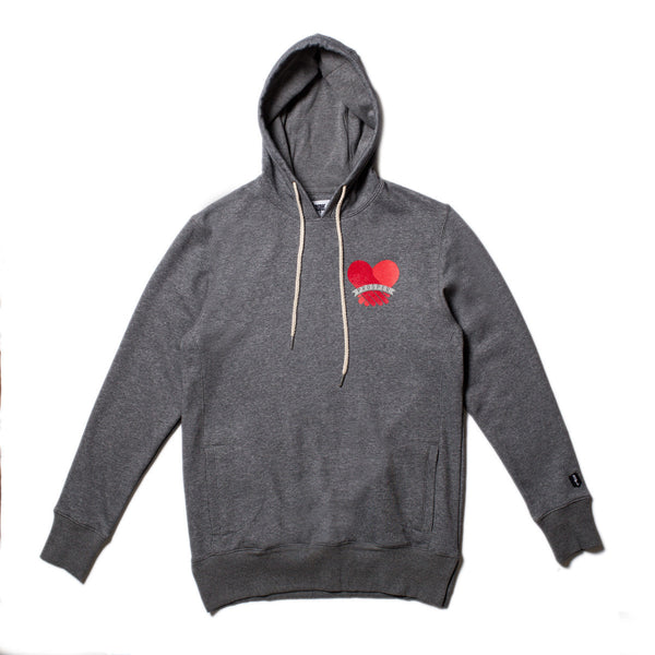 BROTHERLY LOVE HOODY (Heather Charcoal)