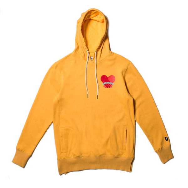 BROTHERLY LOVE HOODY (Old Gold)