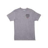 JERSEY FUCKIN CITY TEE (HEATHER GREY)