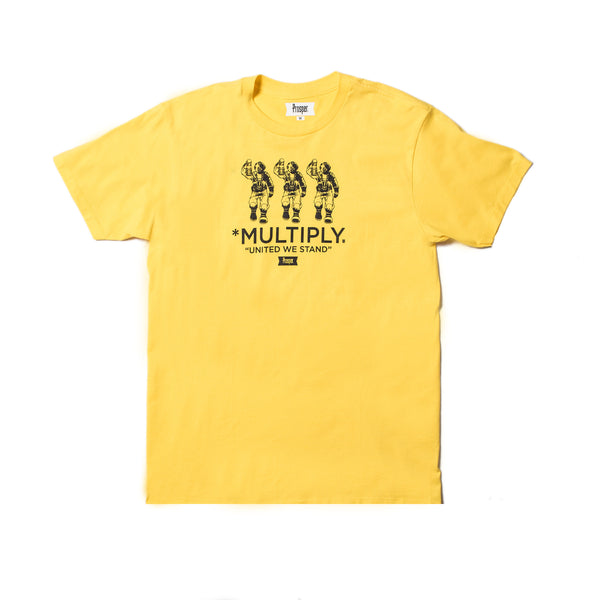 Multiply Tee (Yellow)