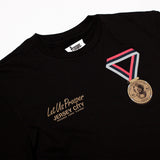 PEOPLES CHAMP S/S TEE (BLACK)