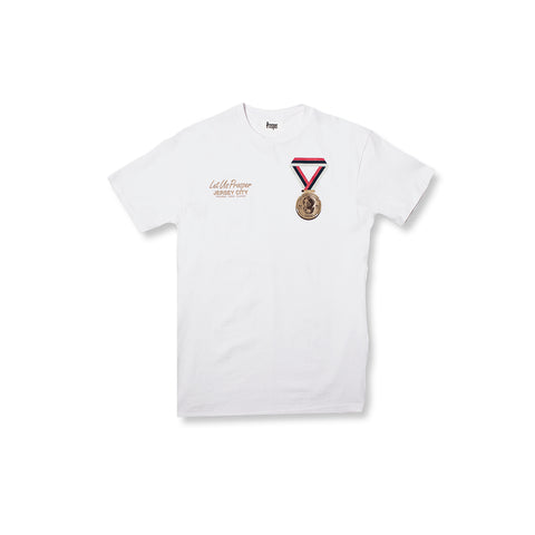 PEOPLES CHAMP S/S TEE (WHITE)