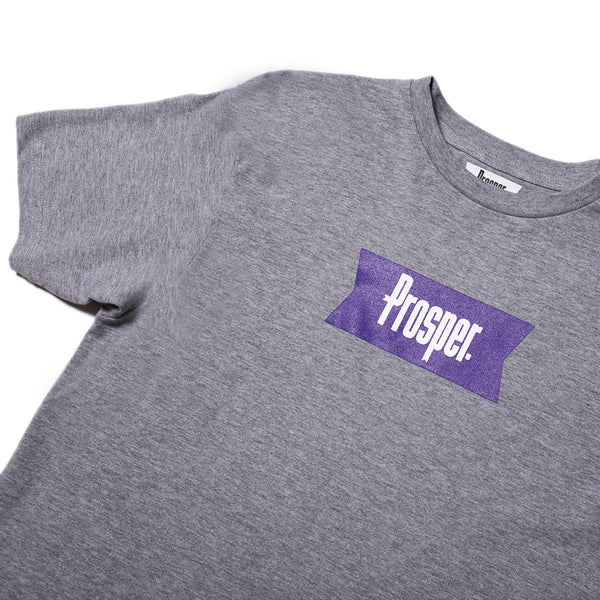 PROSPER RIBBON 2 TEE (Heather Grey)
