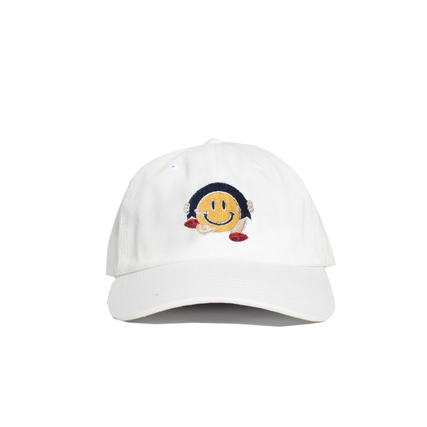 Smile Dad Hat (White)