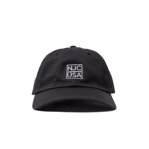 NJCUSA DAD HAT (Black)