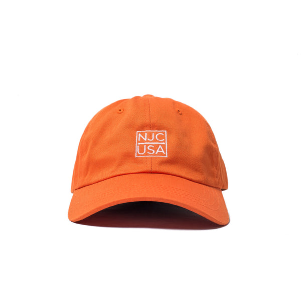 NJCUSA DAD HAT (Orange)