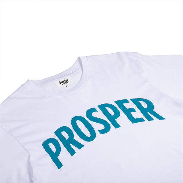 NECESSARY 2 S/S TEE (WHITE/BARRIER REEF)